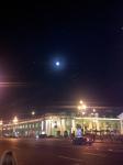 Full moon over Nevskji