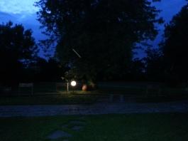giardino di notte