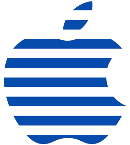 2015 08 02 IBM Apple blue logo