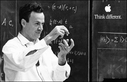 Feynman + apple