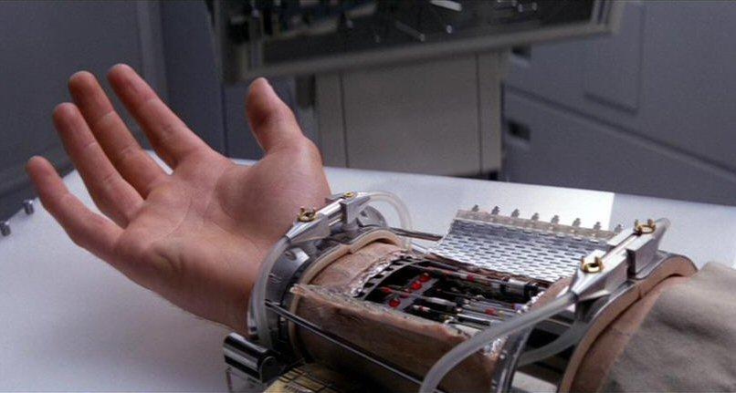 luke's hand