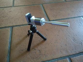 Smartphone tripod mount